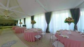 Salão do banquete do casamento filme