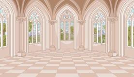 Salão do castelo Imagem de Stock