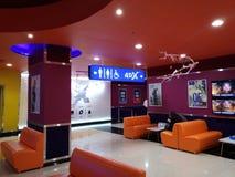 Salão do cinema Fotografia de Stock Royalty Free