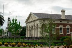 Salão do condado de Ararat na cidade regional do distrito ocidental de Ararat Foto de Stock Royalty Free
