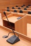 Salão do congresso Foto de Stock Royalty Free