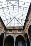 Salão do della Santissima Annunziata da basílica imagem de stock