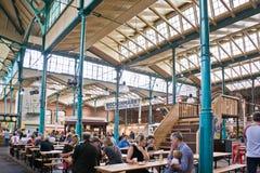 Salão do mercado Foto de Stock Royalty Free