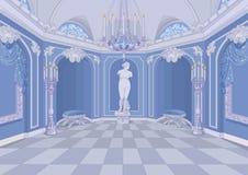Salão do palácio ilustração do vetor