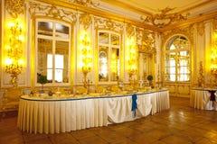 Salão do palácio de Katherine fotografia de stock