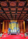 Salão do palácio imperial imagens de stock