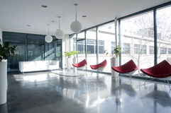 Salão do prédio de escritórios