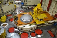 Salão do reator nuclear em um central elétrica Fotografia de Stock