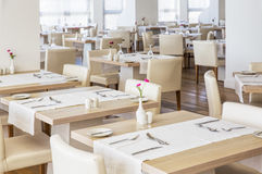 Salão do restaurante Imagens de Stock Royalty Free