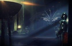 Salão do trono mais próximo Imagem de Stock Royalty Free