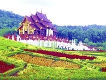 Salão dourado de Chiang Mai Imagem de Stock
