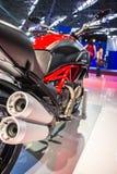 SALÃO DUAS罗达斯-第12种国际摩托车、零件和设备显示 库存照片