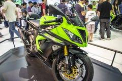 SALÃO DUAS罗达斯-第12种国际摩托车、零件和设备显示 免版税库存照片