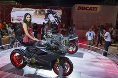 SALÃO DUAS RODAS - двенадцатые международные мотоцикл, части и оборудование показывают Стоковые Фотографии RF
