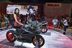 SALÃO DUAS RODAS - 12th International Motorcycle, Parts and Equipment Show Royalty Free Stock Photos