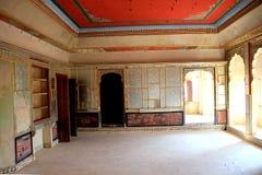 Salão em Patawon-ki-Haweli Fotografia de Stock
