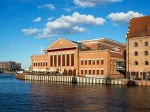 Salão filarmônico Báltico em Gdansk, Polônia Fotografia de Stock Royalty Free
