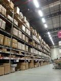 Salão industrial do mercado Fotos de Stock Royalty Free