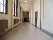 Salão longo Foto de Stock Royalty Free