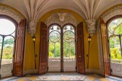 Salão medieval fotografia de stock