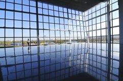 Salão moderno novo do negócio fotografia de stock royalty free