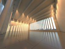 Salão moderno vazio Fotografia de Stock Royalty Free