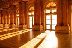 Salão no museu sunlight Imagem de Stock Royalty Free