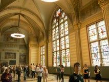Salão principal de Rijksmuseum, Amsterdão Foto de Stock