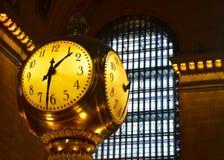 Salão principal do terminal de Grand Central, NYC Fotografia de Stock Royalty Free