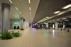 Salão vazio do aeroporto Foto de Stock Royalty Free
