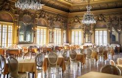 Salão vazio do salão de beleza Fotografia de Stock Royalty Free