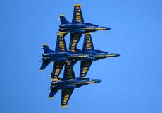 Salón aeronáutico de los ángeles azules Foto de archivo