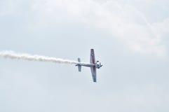 Salón aeronáutico en Ahmadabad, la India Fotografía de archivo libre de regalías