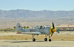 Salón aeronáutico termal: Eagle Squadron rojo Imagen de archivo