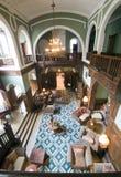 Salón clásico del hotel foto de archivo