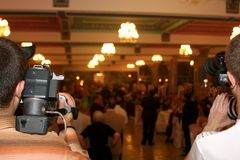 Salón de baile Imágenes de archivo libres de regalías