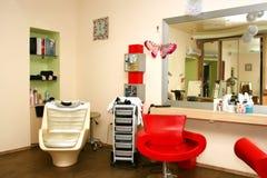 Salón de belleza Imágenes de archivo libres de regalías