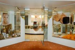 Salón de belleza de un hotel en Leukerbad Fotos de archivo libres de regalías