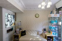 Salón de belleza Maratti fotografía de archivo