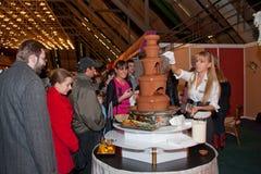 Salón de caramelos en Belgrado 3 Imagen de archivo libre de regalías