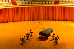 Salón de conciertos Foto de archivo
