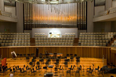 Salón de conciertos Fotografía de archivo libre de regalías