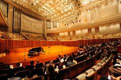 Salón de conciertos del teatro magnífico nacional de China imágenes de archivo libres de regalías