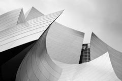 Salón de conciertos, Los Ángeles, California Fotografía de archivo libre de regalías