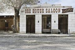 Salón de la casa del mineral en Ione Nevada imagen de archivo