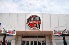Salón de la fama del baloncesto Foto de archivo libre de regalías