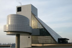 Salón de la fama del rock-and-roll Imagen de archivo