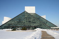 Salón de la fama del rock-and-roll Foto de archivo
