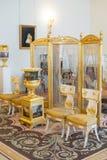 Salón de la música en ermita Fotos de archivo libres de regalías