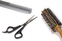 Salón de la peluquería Foto de archivo libre de regalías